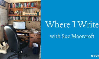 Where I Write Sue Moorcroft