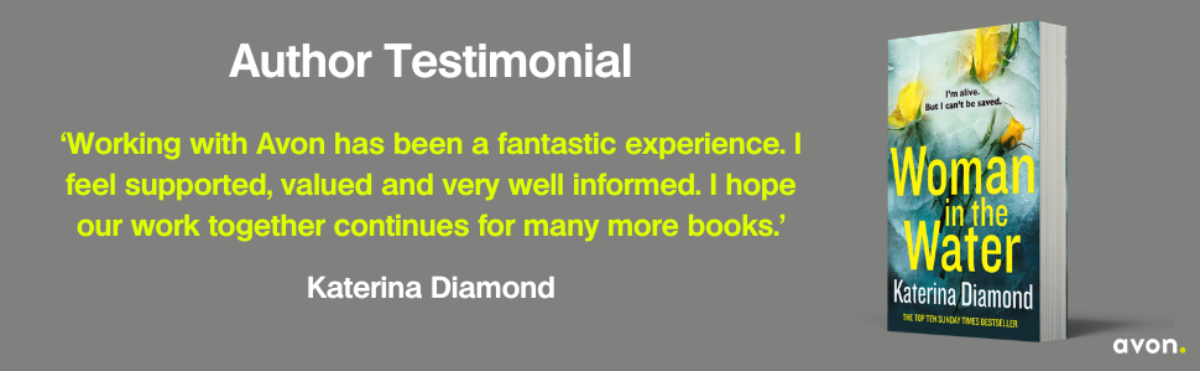 Katerina Diamond Author Testimonial