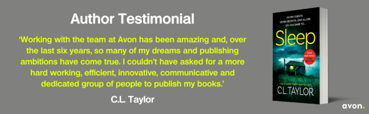 C.L. Taylor Author Testimonial