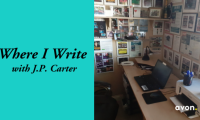 Where I Write with J.P. Carter