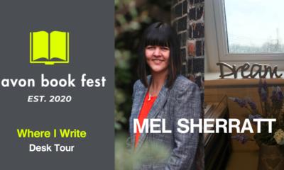 AvonBookFest Mel Sherratt Where I Write