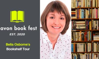 AvonBookFest Bella Osborne Bookshelf Tour