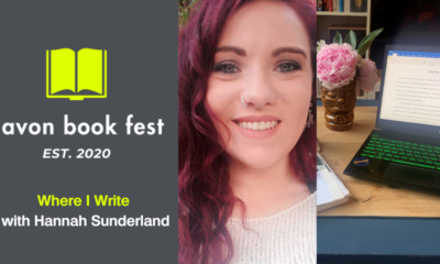 AvonBookFest Hannah Sunderland Where I Write