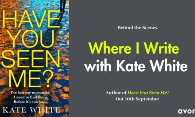 Where I Write with Kate White