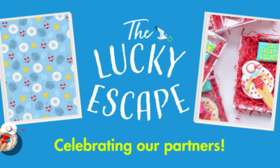 The Lucky Escape celebrating our partners