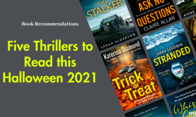 Five Thrillers to Read this Halloween 2021