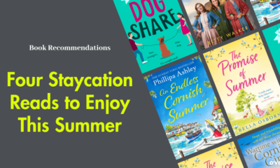 Four Staycation Reads to Enjoy This Summer